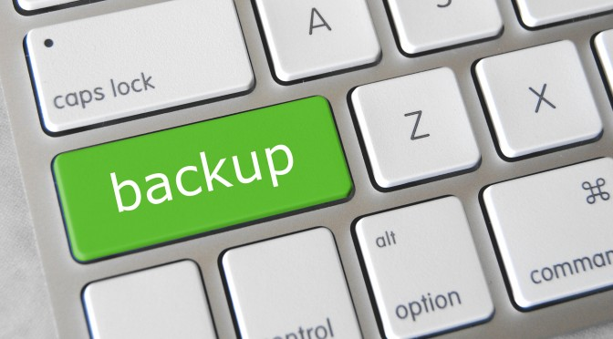 How I learned the importance of backup, the hard way